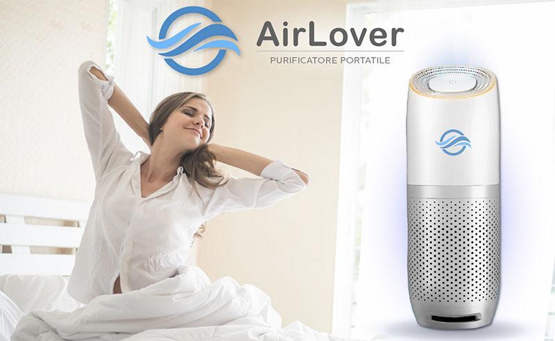 Purificatore d'Aria Portatile Air Lover: Recensione e Opinioni