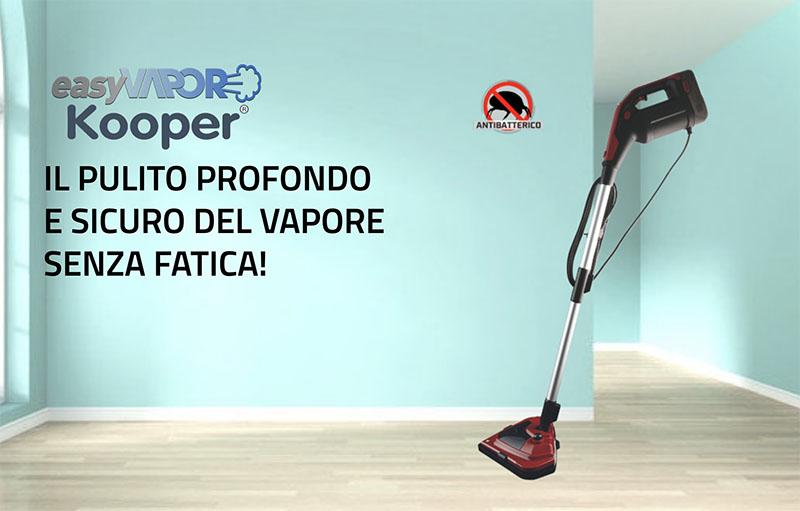 Pulizia a Vapore Easy Vapor Kooper